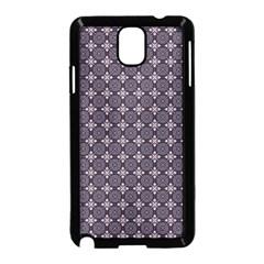 Cute Pretty Elegant Pattern Samsung Galaxy Note 3 Neo Hardshell Case (black) by creativemom