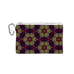 Cute Pretty Elegant Pattern Canvas Cosmetic Bag (s) by creativemom