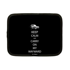Keep Calm And Carry On My Wayward Son Netbook Case (small)  by TheFandomWard