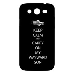 Carry On Centered Samsung Galaxy Mega 5 8 I9152 Hardshell Case  by TheFandomWard