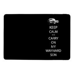 Keep Calm And Carry On My Wayward Son Samsung Galaxy Tab Pro 10 1  Flip Case by TheFandomWard