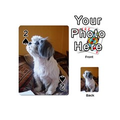 Shih Tzu Sitting Playing Cards 54 (Mini)  by TailWags
