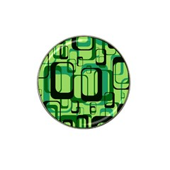 Retro Pattern 1971 Green Hat Clip Ball Marker (10 Pack) by ImpressiveMoments