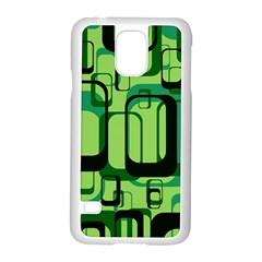 Retro Pattern 1971 Green Samsung Galaxy S5 Case (white)