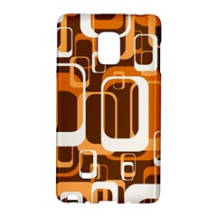 Retro Pattern 1971 Orange Galaxy Note Edge by ImpressiveMoments