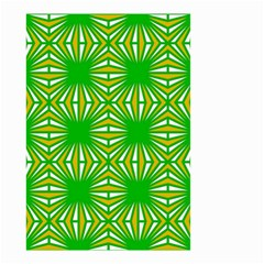 Retro Green Pattern Small Garden Flag (two Sides)