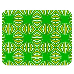 Retro Green Pattern Double Sided Flano Blanket (medium)  by ImpressiveMoments