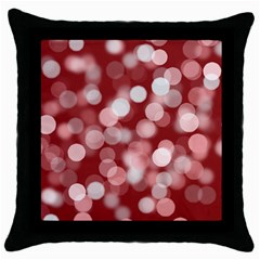 Modern Bokeh 11 Throw Pillow Cases (Black) by ImpressiveMoments