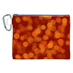 Modern Bokeh 12 Canvas Cosmetic Bag (xxl)  by ImpressiveMoments