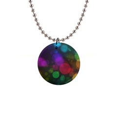 Modern Bokeh 15 Button Necklaces by ImpressiveMoments