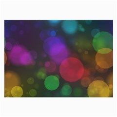 Modern Bokeh 15 Large Glasses Cloth (2 Side) by ImpressiveMoments