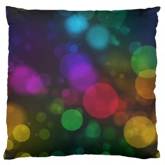 Modern Bokeh 15 Large Flano Cushion Cases (two Sides)  by ImpressiveMoments