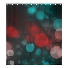 Modern Bokeh 15b Shower Curtain 66  X 72  (large)