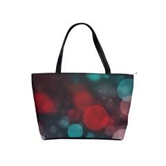 Modern Bokeh 15b Shoulder Handbags by ImpressiveMoments