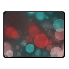 Modern Bokeh 15b Double Sided Fleece Blanket (small)  by ImpressiveMoments