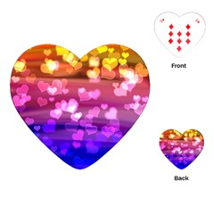Lovely Hearts, Bokeh Playing Cards (heart)  by ImpressiveMoments