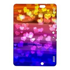 Lovely Hearts, Bokeh Kindle Fire HDX 8.9  Hardshell Case by ImpressiveMoments