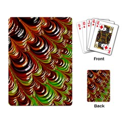 Special Fractal 31 Green,brown Playing Card by ImpressiveMoments