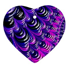 Special Fractal 31pink,purple Ornament (heart)  by ImpressiveMoments