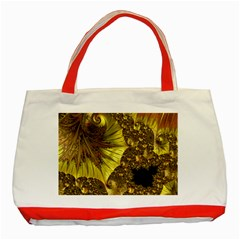 Special Fractal 35cp Classic Tote Bag (Red)  by ImpressiveMoments