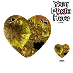 Special Fractal 35cp Playing Cards 54 (heart)  by ImpressiveMoments