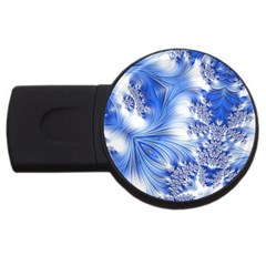 Special Fractal 17 Blue Usb Flash Drive Round (4 Gb)  by ImpressiveMoments