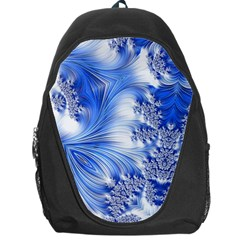 Special Fractal 17 Blue Backpack Bag by ImpressiveMoments