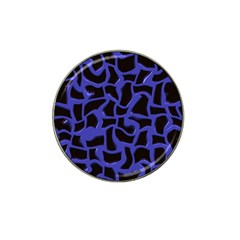 Purple Holes Hat Clip Ball Marker (4 Pack) by LalyLauraFLM