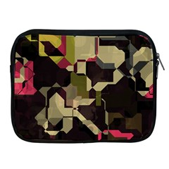Techno Puzzle Apple Ipad 2/3/4 Zipper Case by LalyLauraFLM