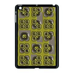 Plastic Shapes Pattern Apple Ipad Mini Case (black) by LalyLauraFLM