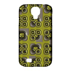 Plastic Shapes Pattern Samsung Galaxy S4 Classic Hardshell Case (pc+silicone) by LalyLauraFLM