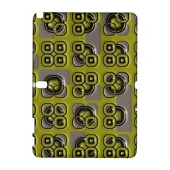Plastic Shapes Pattern Samsung Galaxy Note 10 1 (p600) Hardshell Case by LalyLauraFLM