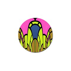 Distorted Symmetrical Shapes Golf Ball Marker (10 Pack) by LalyLauraFLM