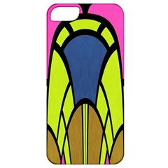 Distorted Symmetrical Shapes Apple Iphone 5 Classic Hardshell Case by LalyLauraFLM