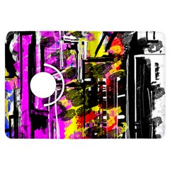 Abstract City View Kindle Fire HDX Flip 360 Case by theunrulyartist