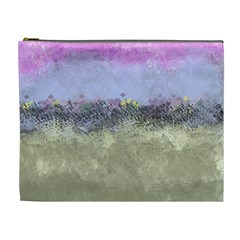 Abstract Garden In Pastel Colors Cosmetic Bag (xl) by theunrulyartist