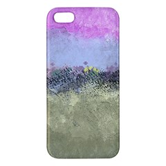 Abstract Garden In Pastel Colors Iphone 5s Premium Hardshell Case by theunrulyartist