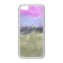 Abstract Garden In Pastel Colors Apple Iphone 5c Seamless Case (white) by theunrulyartist