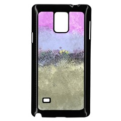 Abstract Garden In Pastel Colors Samsung Galaxy Note 4 Case (black)
