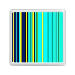 Hot Stripes Aqua Memory Card Reader (square)  by ImpressiveMoments