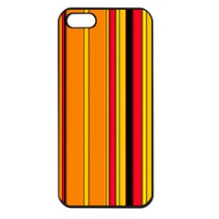 Hot Stripes Fire Apple Iphone 5 Seamless Case (black) by ImpressiveMoments