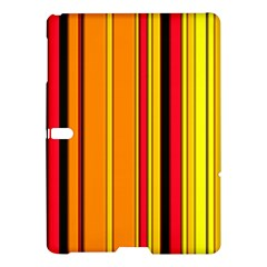 Hot Stripes Fire Samsung Galaxy Tab S (10 5 ) Hardshell Case