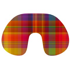 Plaid, Hot Travel Neck Pillows