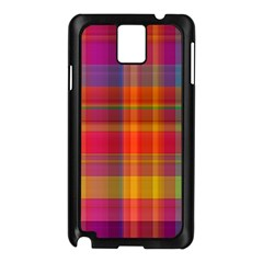 Plaid, Hot Samsung Galaxy Note 3 N9005 Case (black) by ImpressiveMoments
