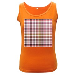 Plaid, Candy Women s Dark Tank Tops by ImpressiveMoments