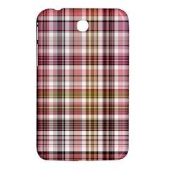 Plaid, Candy Samsung Galaxy Tab 3 (7 ) P3200 Hardshell Case  by ImpressiveMoments