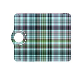 Plaid Ocean Kindle Fire HDX 8.9  Flip 360 Case by ImpressiveMoments