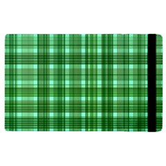 Plaid Forest Apple Ipad 2 Flip Case by ImpressiveMoments