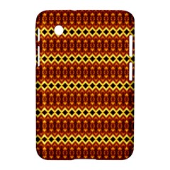 Cute Seamless Tile Pattern Gifts Samsung Galaxy Tab 2 (7 ) P3100 Hardshell Case  by creativemom