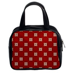 Cute Seamless Tile Pattern Gifts Classic Handbags (2 Sides) by creativemom